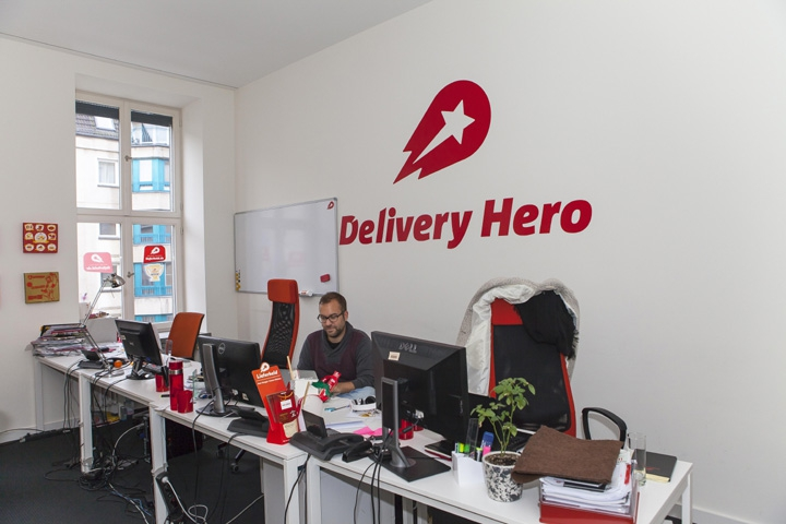 Hausbesuch bei Delivery Hero