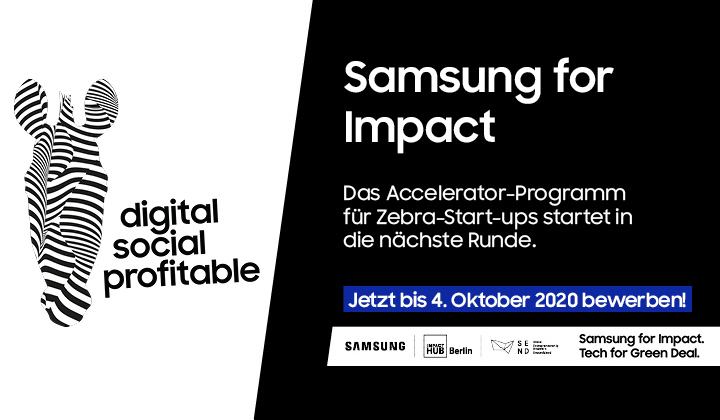 "Samsung for Impact startet in die nächste Runde mit dem Motto ""Tech for Green Deal"""
