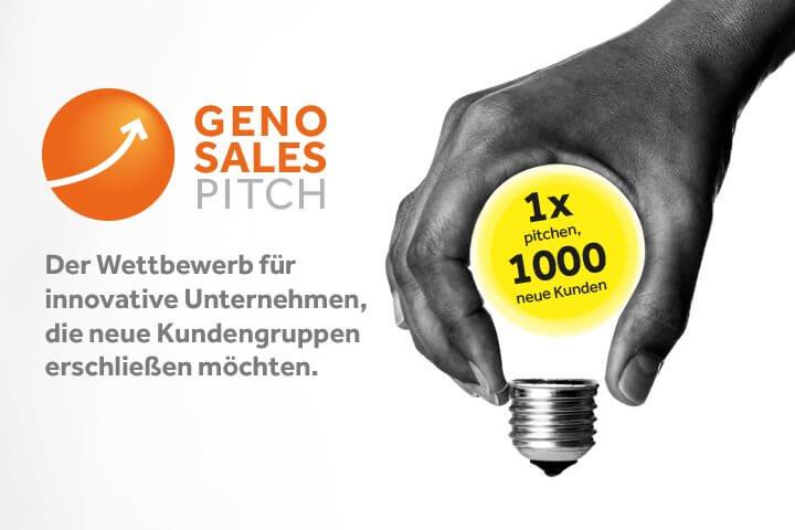GenoSalesPitch: Ihre Chance auf 1000 neue Kunden