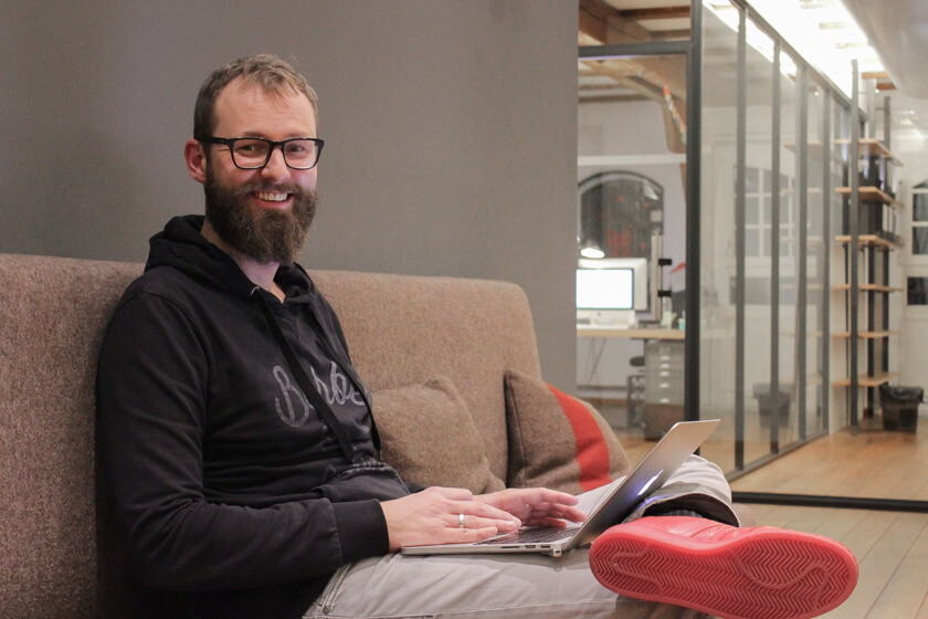 Bastian Scherbeck, Head of Digital Interactions bei Kolle Rebbe