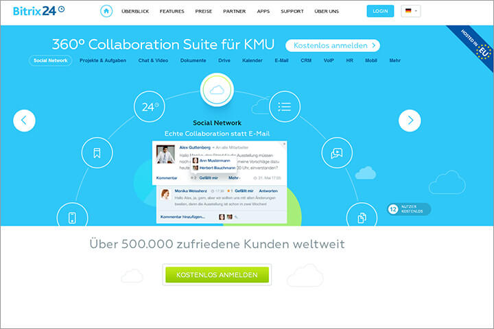 Bitrix24, ein All-in-one-Tool zur Collaboration