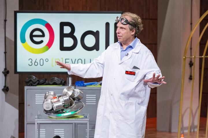eBall: Fast wäre der Deal mit den Löwen geplatzt