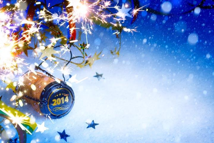 HAPPY NEW YEAR, Prosit und ein besonderes 2014!