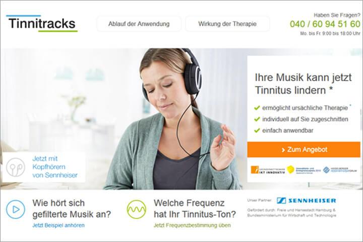 Tinnitracks: Gefilterte Lieblingsmusik kann gegen Tinnitus helfen