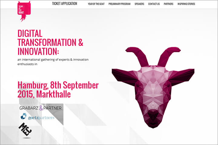 Year of the Goat: Digitale Transformation erfrischend anders
