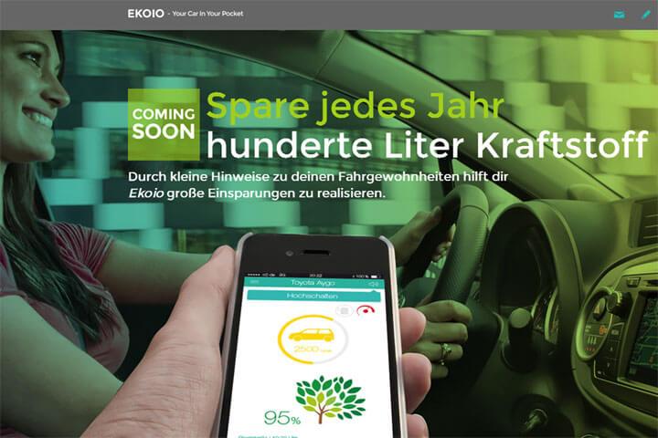 Ekoio optimiert Fahrgewohnheiten über eine App