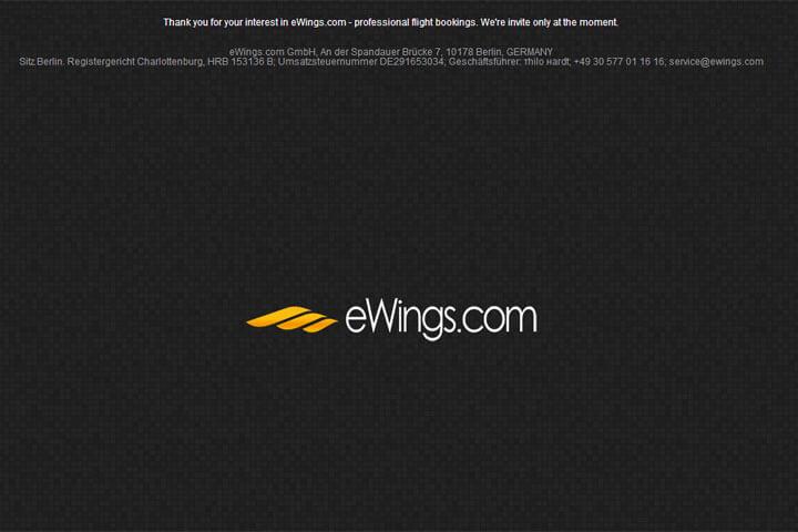 eWings will Vielfliegern das Buchen von Flügen erleichtern