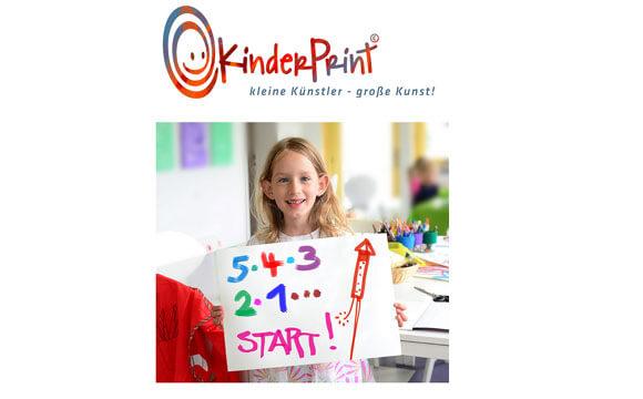 Bei KinderPrint gibt es Kunst von kleinen Künstlern