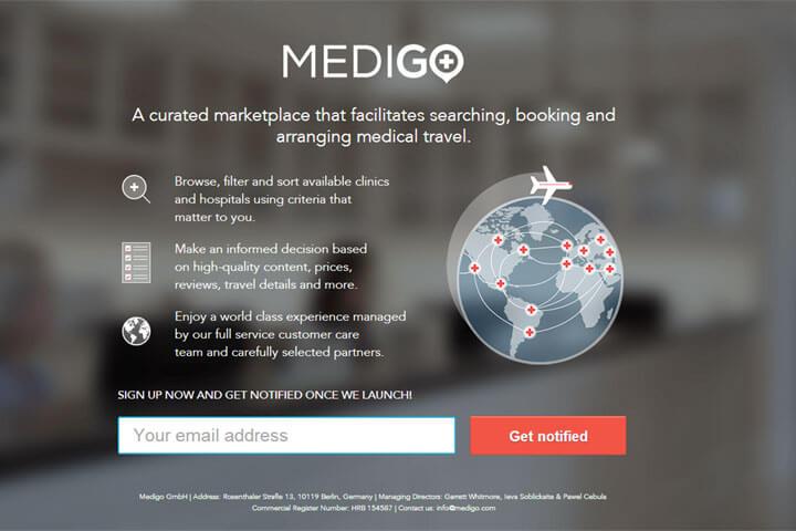 Medigo kümmert sich um weltweiten Medizintourismus