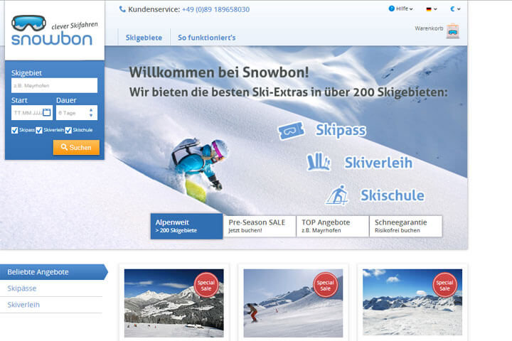 Snowbon, Scarosso, Smartstream, Placetel