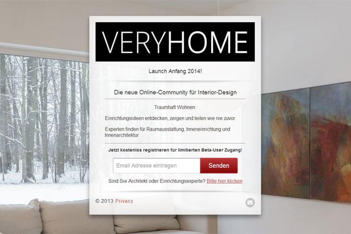 """Veryhome will Home und Living-Fans """"ein Erlebnis bieten"""""""