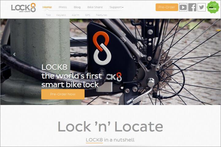 Mit Lock8 Fahrrad smart abschließen, lokalisieren und vermieten