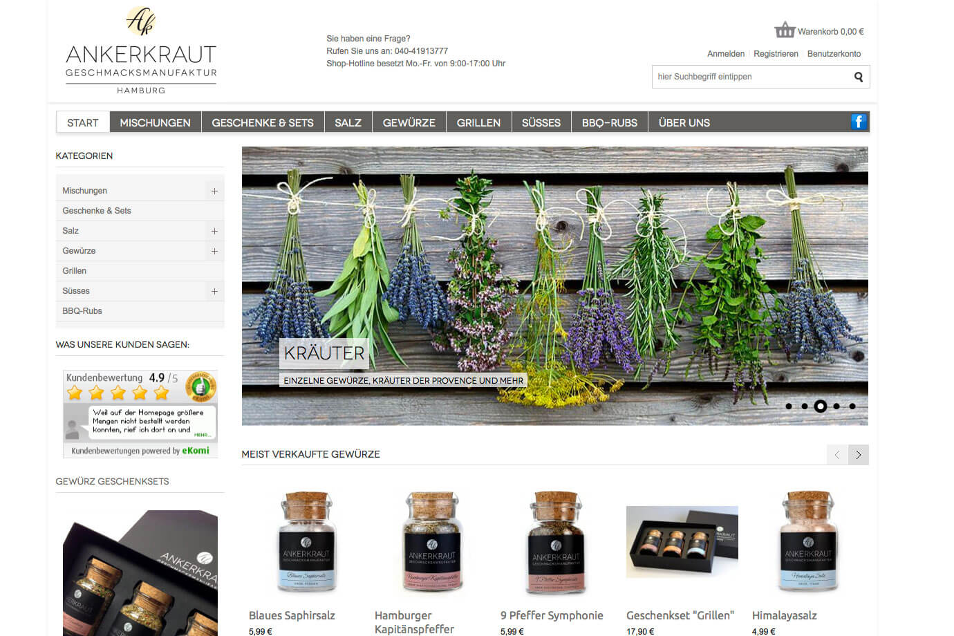 Ankerkraut, Schnuff & Co., Findch, mobileBrownie, Selbermakler.de