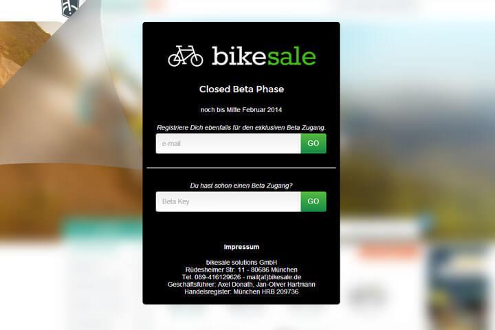 Auf bikesale gibt's gebrauchte Fahrräder
