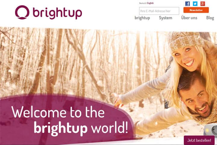 brightup macht ganz automatisch das Licht an