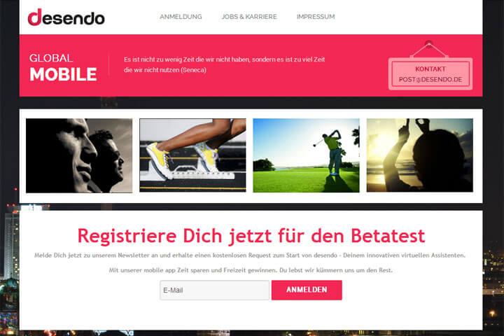 desendo bringt die persönlichen Assistenten per App