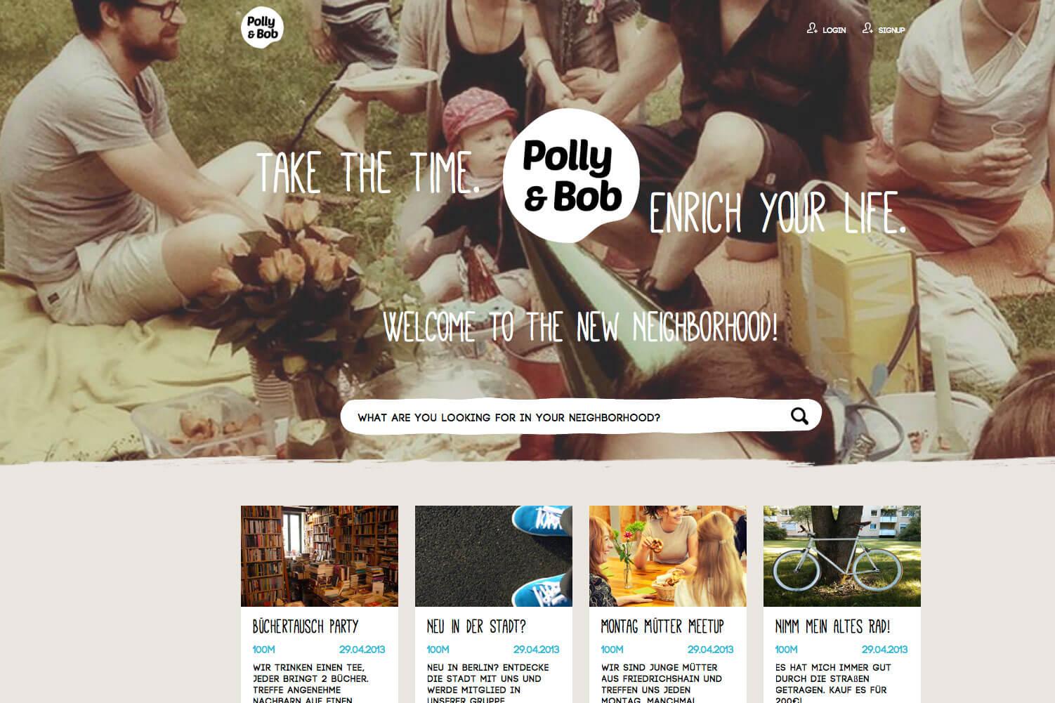 Polly&Bob, Memorado, Laremia, 5hosting, Spotsh