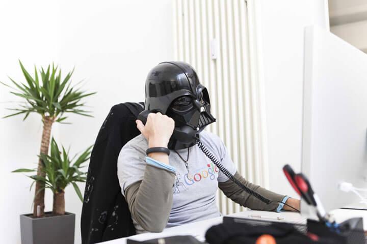 Wo Darth Vader noch persönlich ans Telefon geht