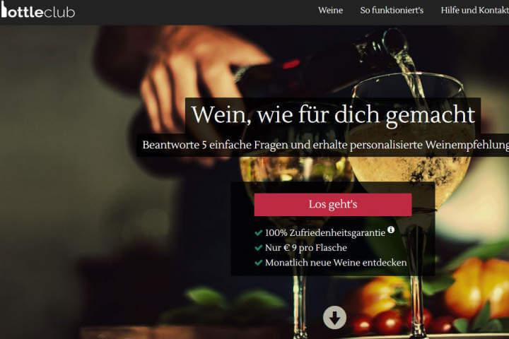 Bottleclub, Brabbl, Rohstoffversand.de, LiveTV, Pinatura