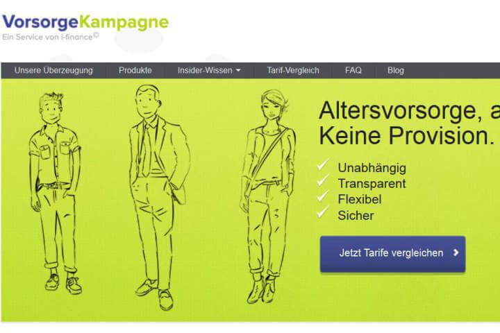 VorsorgeKampagne.de, Memoriafilm, Sensorfox, Parkplatz365, Digitalmatch