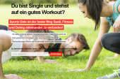 Sporty Date verbindet Fitness und Dating miteinander