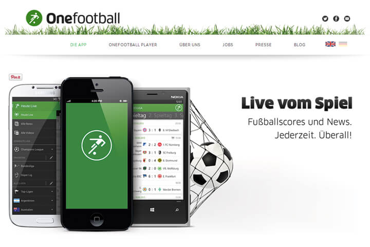 onefootball, Spreadshirt, Fernbus24 (und mehr News)