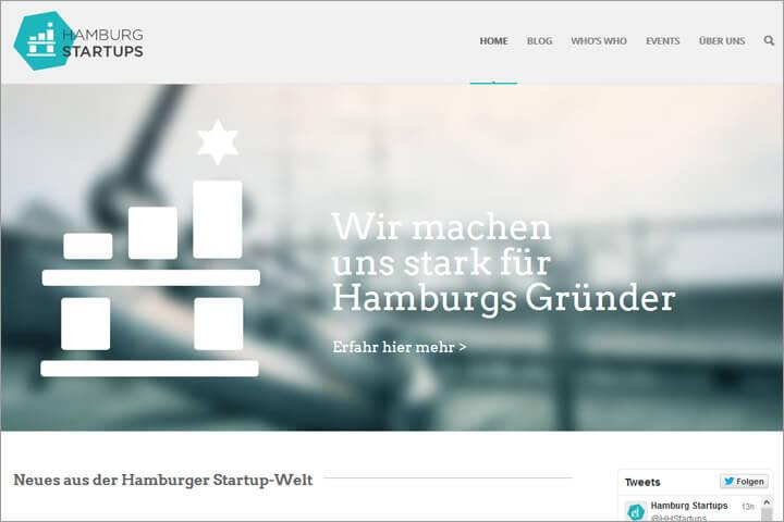 Hamburg Startups legt sich für das Ecosystem Hamburger Start-ups ins Zeug