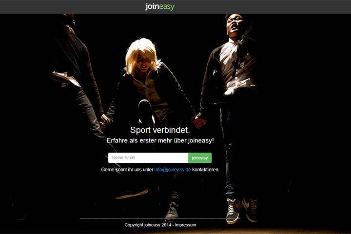 joineasy bietet eine Kommunikationsplattform für Sportler