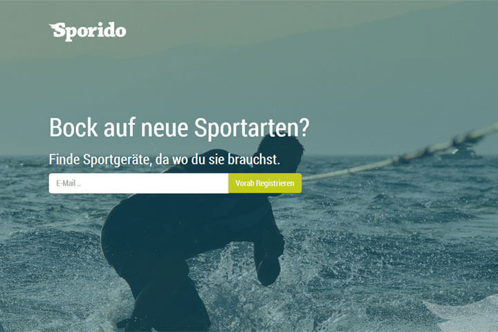 Bei Sporido kann man Sportgeräte leihen oder verleihen