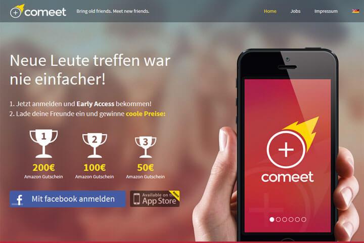 comeet bringt Menschen an coolen Orten zusammen