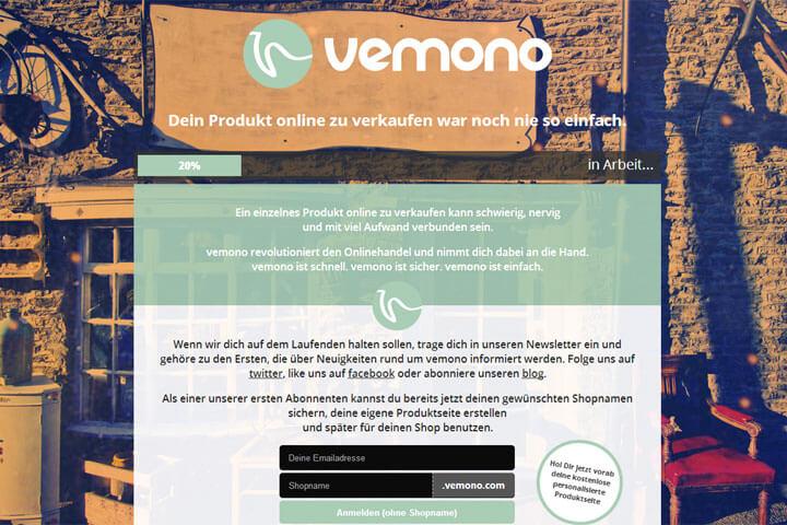 vemono will junge Onlinehändler an die Hand nehmen