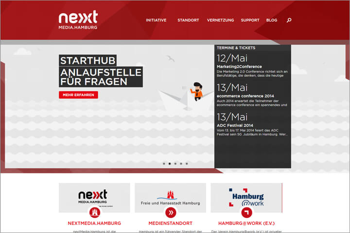 Die Arbeit von nextMedia.Hamburg in der Praxis