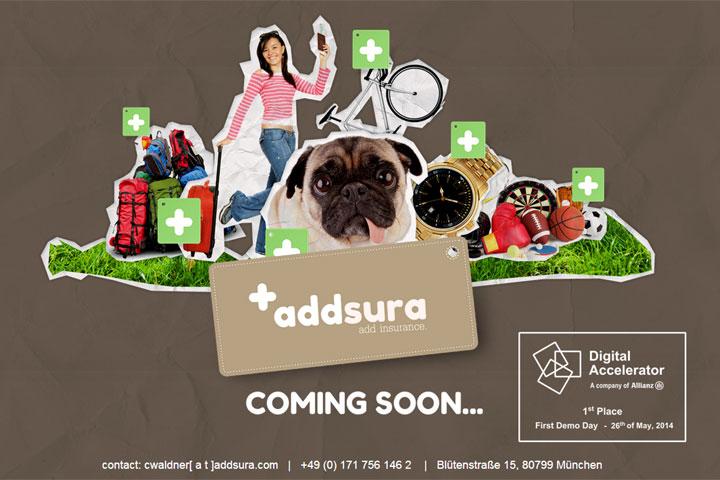 Mit addsura können Shops Versicherungen verkaufen