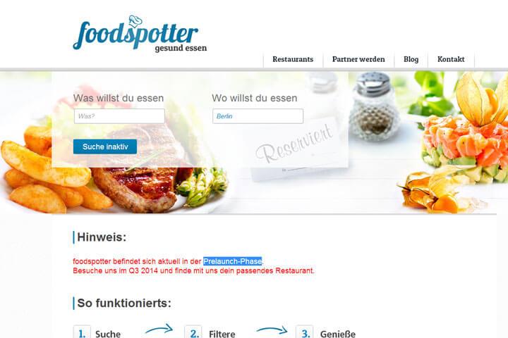 Bei foodspotter finden Allergiker das passende Restaurant