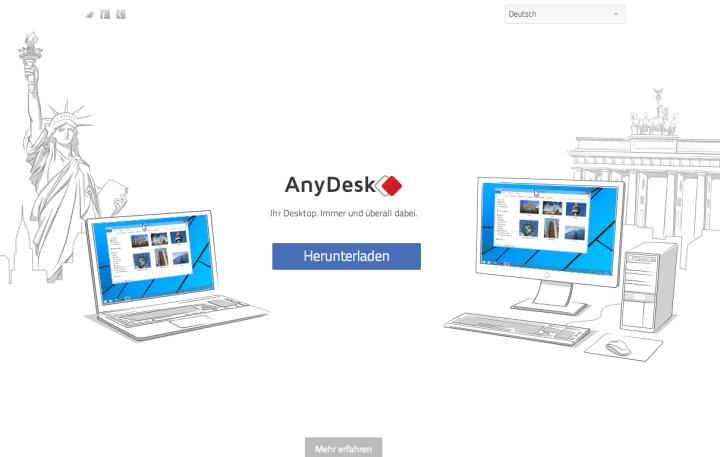 AnyDesk verspricht PC-Fernsteuerung in Echtzeit