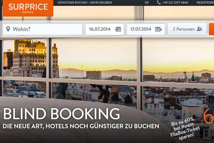 Surprice-Hotels, Teezeit, Easyfolio, Timply, Pimu
