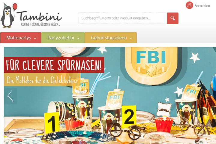 Tambini, Blicksta, Rechnung48, Padeno, blipcard