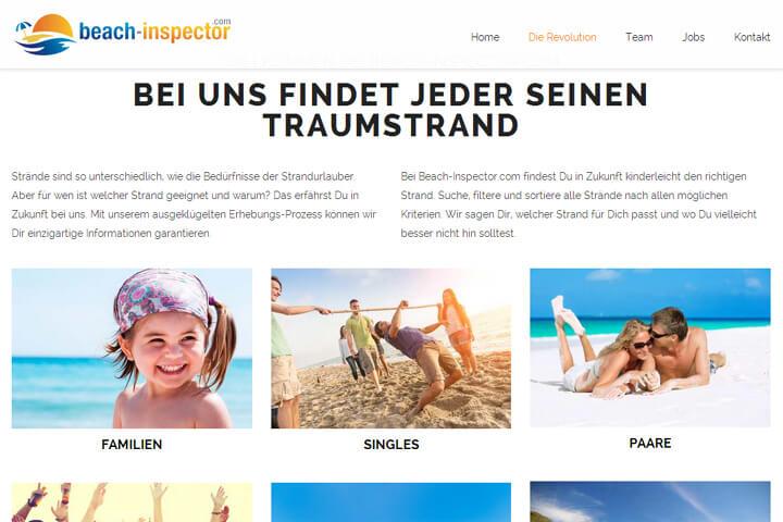 Mit Beach-Inspector Strände in aller Welt bewerten