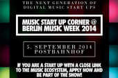 Music Start Up Corner geht in die zweite Runde
