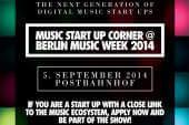 Music Start Up Corner geht in die zweite Runde