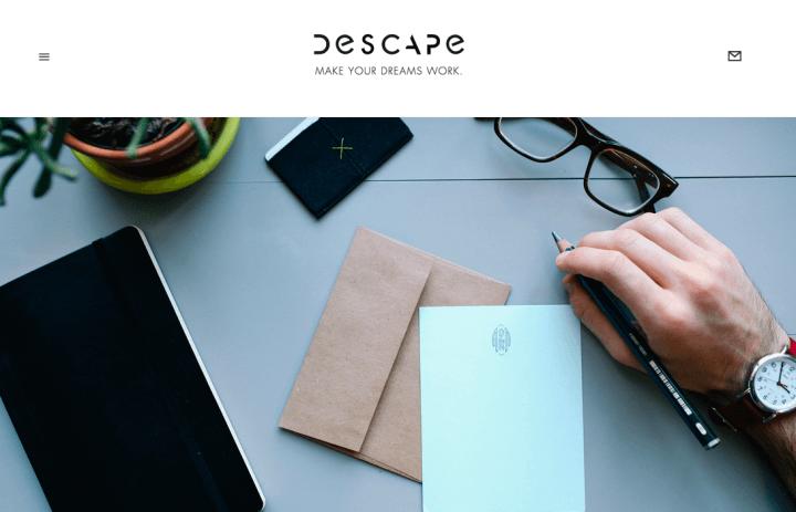 Descape, Kochbot, absence.io, getinvest24, fairr.de