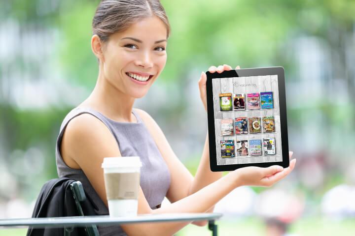 Mit tabcircle Zeitschriften einfach digital lesen
