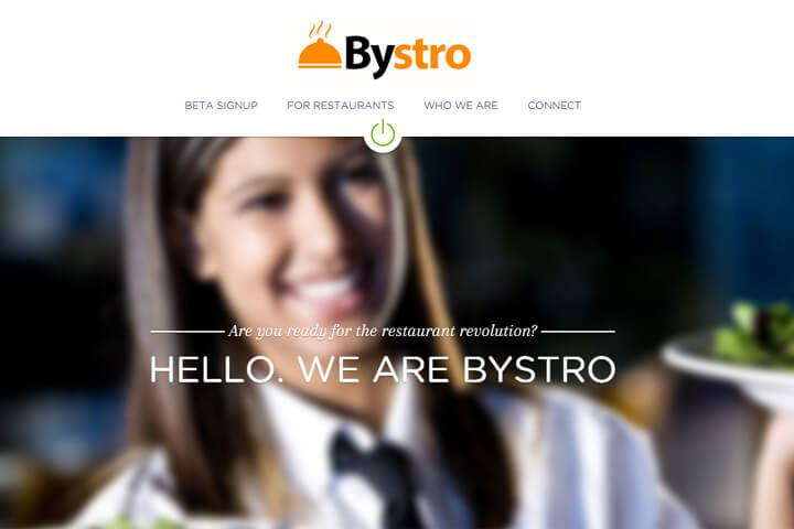 bystro will mal eben die Restaurantszene revolutionieren