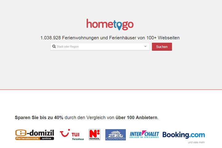 HomeToGo, startupart, art2rent, Avenyou, Bokolina