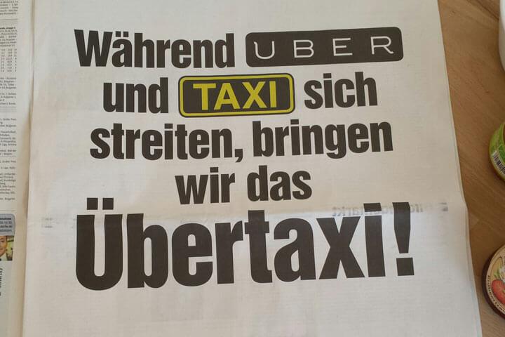 myDriver legt sich medial mit Uber und Co. an