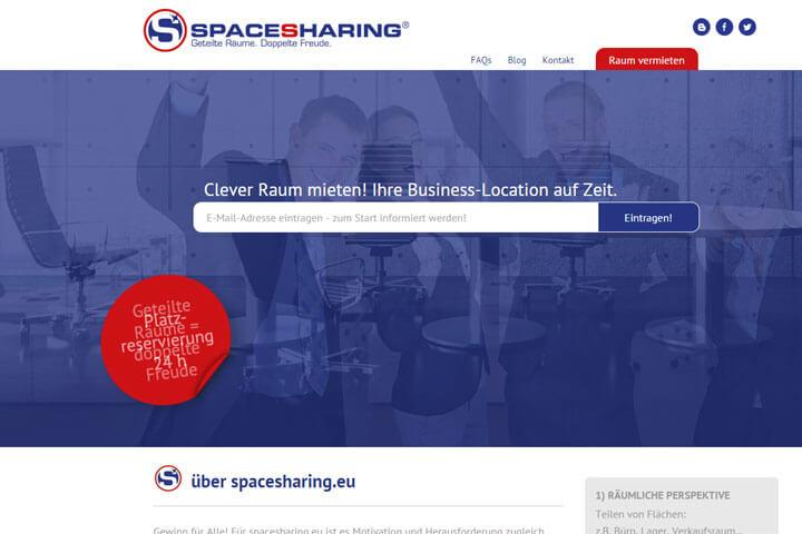 Spacesharing vermittelt Businessräume auf Zeit
