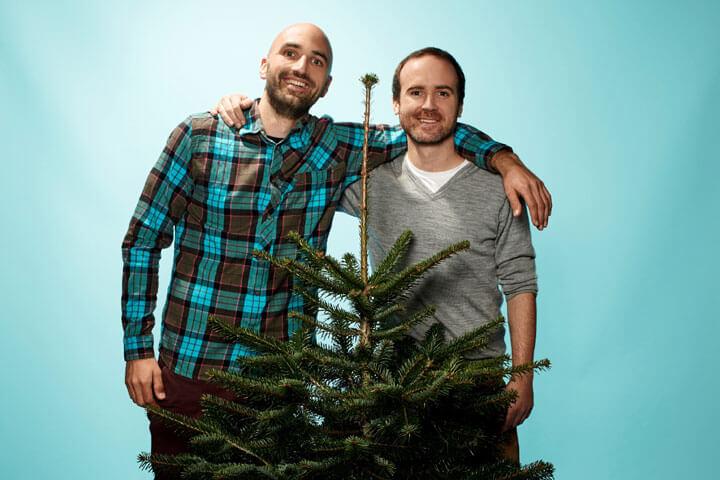 Einen Weihnachtsbaum mieten? Klar, bei HappyTree!