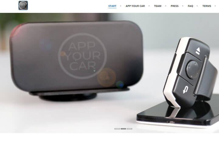 App Your Car ermöglicht die Smartphone-Nutzung während der Autofahrt