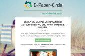E-Paper-Circle bietet eine Alternative zum Kauf von digitalen Zeitungen