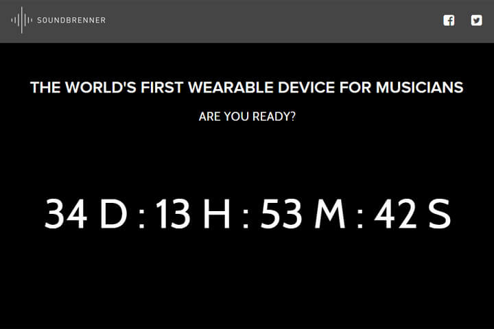 Soundbrenner kommt als Wearable für Musiker daher